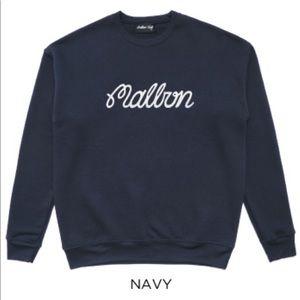 MALBON GOLF Bermuda Embroidered Crewneck sweater